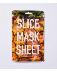 LOFT - Orange Kocostar Pineapple Slice Mask Sheet - Lyst