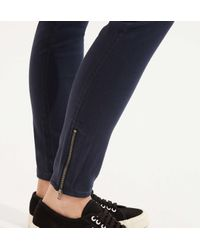 LOFT - Blue Lou & Grey Brush Up Leggings - Lyst