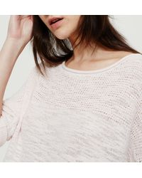 LOFT - Multicolor Lou & Grey Meshstitch Sweater - Lyst
