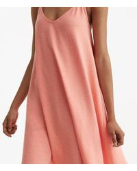 LOFT - Multicolor Lou & Grey Sueded Jersey Swing Dress - Lyst