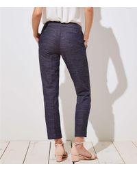 LOFT - Black Slim Custom Stretch Pants In Julie Fit - Lyst