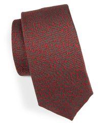 HUGO - Skinny Textured Tie for Men - Lyst