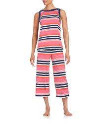 kate spade new york - Red Printed Pajama Set - Lyst