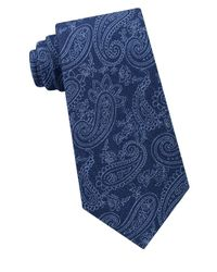Michael Kors - Blue Dancing Halo Paisley Tie for Men - Lyst