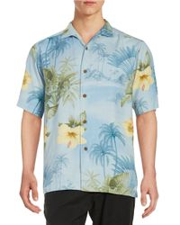 Tommy Bahama | Natural Palm Print Sportshirt for Men | Lyst
