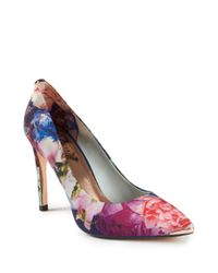 Ted Baker | Purple Neevo Three Fashion Pumps | Lyst
