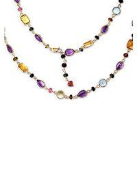 Effy - Blue Semi-precious, Multi-stone 14k Gold Necklace - Lyst