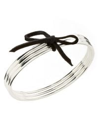 Lauren by Ralph Lauren | Metallic Bangle Bracelets Set | Lyst