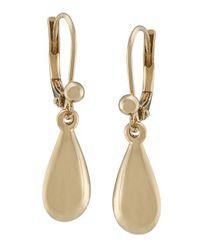 Lauren by Ralph Lauren | Metallic Goldtone Drop Earrings | Lyst
