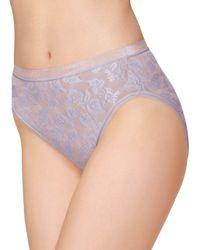 Wacoal - Purple Awareness Hi-cut Brief Panty - Lyst