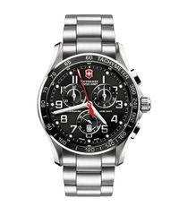 Victorinox   Metallic Chrono Classic Xls Stainless Steel Chronograph Bracelet Watch for Men   Lyst