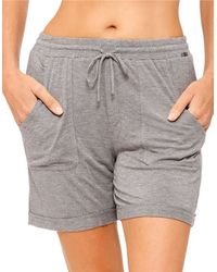 Kensie | Gray Basic Boxer Shorts | Lyst