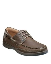 Florsheim | Multicolor Lakeside Leather Oxford Boat Shoes for Men | Lyst