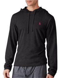Polo Ralph Lauren | Black Supreme Comfort Jersey Hoodie for Men | Lyst
