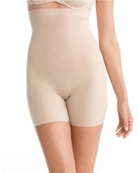 Spanx | Natural Hi-waist Mid-thigh Shaper | Lyst