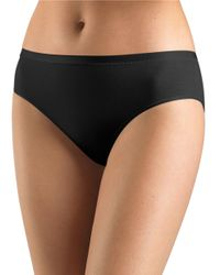 Hanro | Black Soft Touch High-cut Brief | Lyst