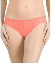 Natori | Pink Bliss Perfection Thong | Lyst