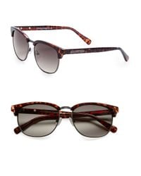 Vince Camuto | Brown 57mm Sunglasses | Lyst