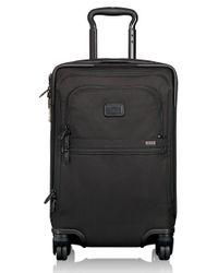 Tumi   Black Alpha 2 4-wheel International Office Carry-on Bag-22 In. for Men   Lyst