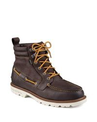 Sperry Top-Sider - Brown A O Leather Lug Boot for Men - Lyst