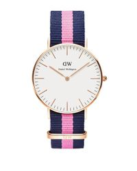 Daniel Wellington | Multicolor Classic Winchester Rose Gold And Nato Strap Watch, 36mm | Lyst