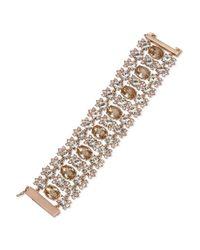 Givenchy | Metallic Faceted Flex Magnetic Bracelet | Lyst