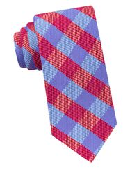 Ted Baker | Gingham Textured Silk Tie for Men | Lyst
