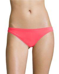 Vince Camuto   Pink Figi Solids Hipster Bikini Bottom   Lyst
