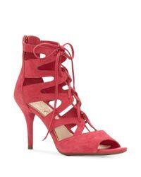 Jessica Simpson | Pink Mitta Gladiator-inspired Cage Sandals | Lyst