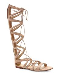Dolce Vita | Natural Raleigh Leather Gladiator Sandals | Lyst
