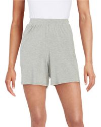 Bench | Gray Culotte Shorts | Lyst