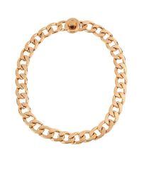 Kenneth Cole | Metallic Modern Essentials Circle Link Necklace | Lyst