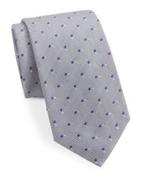 Vince Camuto | Multicolor Dotted Silk-blend Tie for Men | Lyst