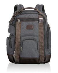 Tumi | Black Alpha Bravo Shaw Deluxe Ballistic Nylon Backpack for Men | Lyst