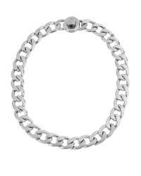 Kenneth Cole | Metallic Chain Link Necklace | Lyst