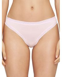 Yummie By Heather Thomson - Pink Nash Thong - Lyst