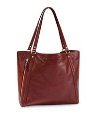 UGG | Red Jenna Leather Tote Bag | Lyst