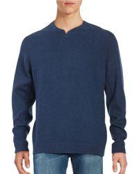 Tommy Bahama | Blue New Flip Side Pro Abaco Splitneck Sweatshirt for Men | Lyst