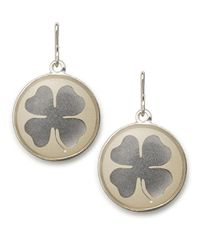 ALEX AND ANI | Metallic Four Leaf Clover Necklace Charm | Lyst