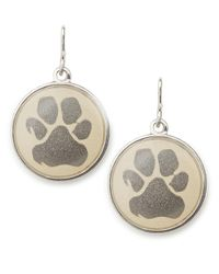 ALEX AND ANI | Metallic Paw Print Necklace Charm | Lyst