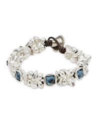 Uno De 50 | Blue The Jejewel Bracelet | Lyst