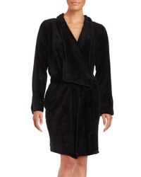 Lord & Taylor | Black Fleece Robe | Lyst