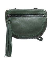 Sanctuary | Green Leather Shoulder Bag | Lyst