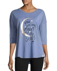 Munki Munki - Blue Constellation Pajama Set - Lyst