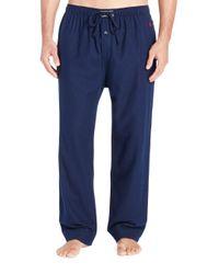 Polo Ralph Lauren - Blue Stretch-modal Jersey Pyjama Trousers for Men - Lyst