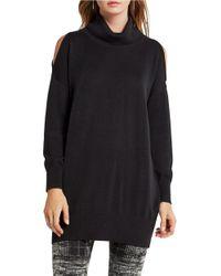 BCBGeneration | Black Cotton-blend Pullover | Lyst