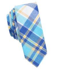 Original Penguin | Blue Plaid Cotton Tie for Men | Lyst