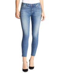 William Rast | Blue Faded Five-pocket Jeans | Lyst
