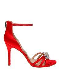 Belle By Badgley Mischka | Red Star Ankle-strap Sandals | Lyst