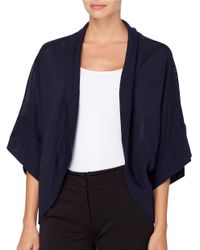 Catherine Malandrino | Blue Dolman Sleeve Kimono Cardigan | Lyst